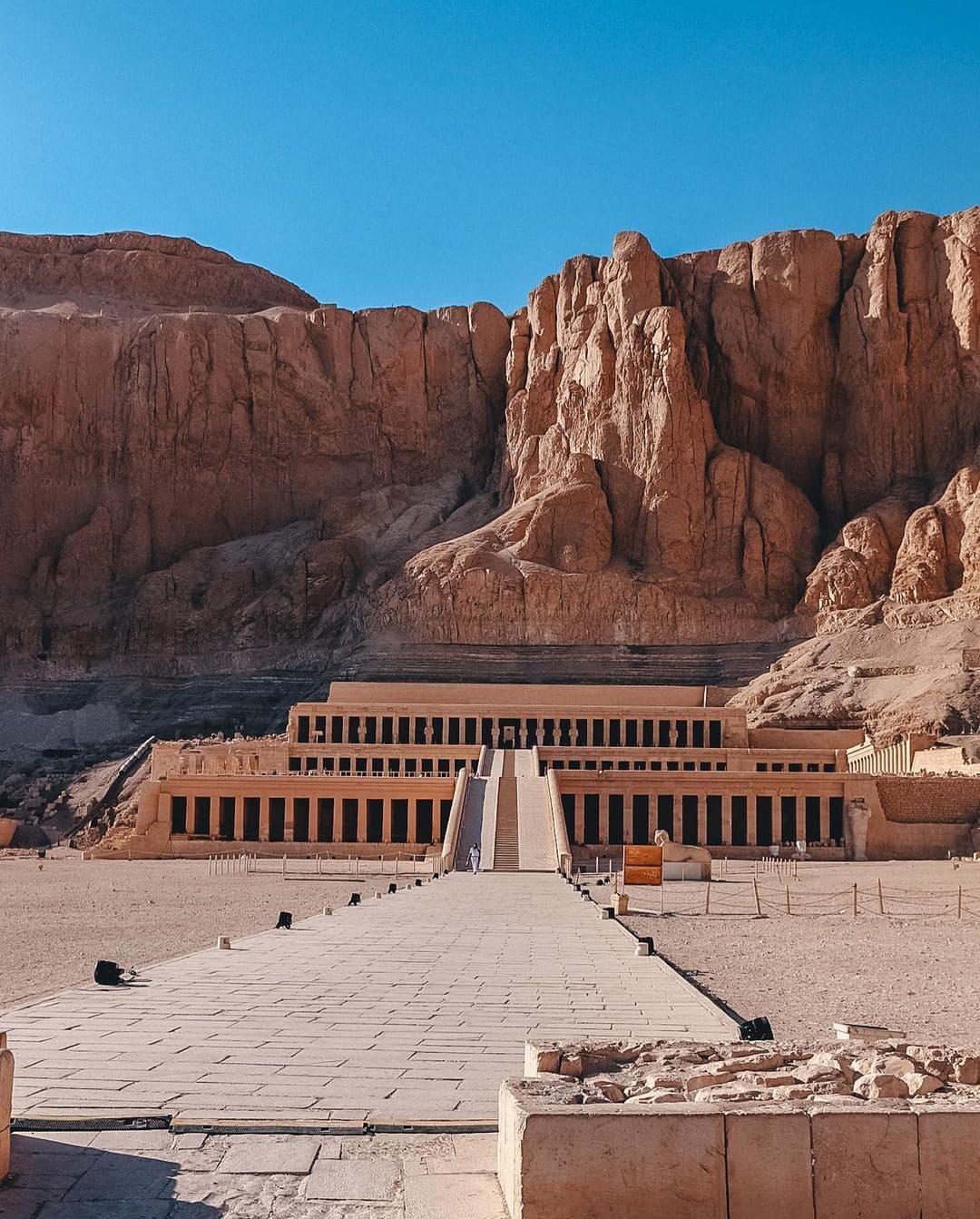 Экскурсия в Луксоре в Храм Хатшепсут фото