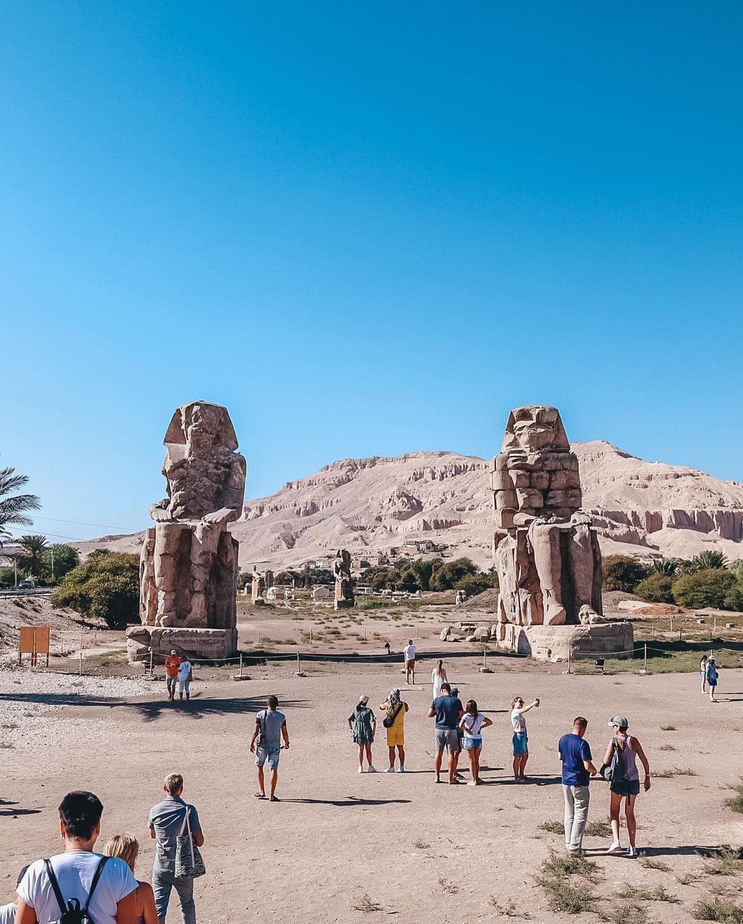 Колоссы Мемнона – Экскурсия в Луксоре фото