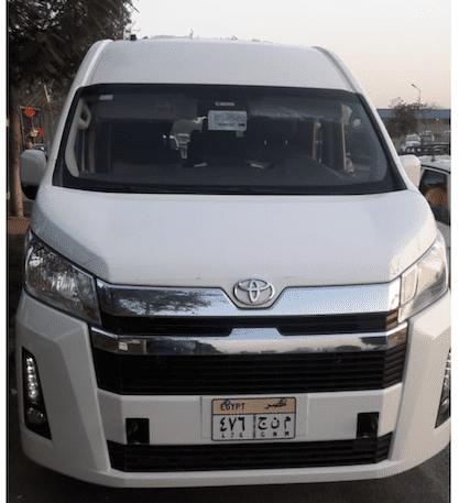 Автомобиль для трансфера Каир – Хургада фото
